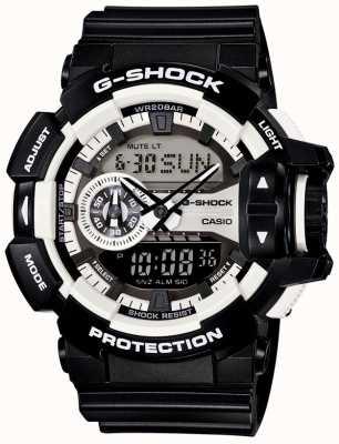 Casio Mens G-SHOCK orologio nero GA-400-1AER