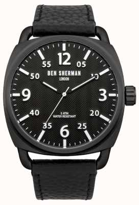 Ben Sherman Mens Watch covent a spina di pesce WB008B