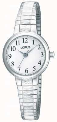 Lorus Acciaio orologio da polso di espansione Ladies ' RG239NX9