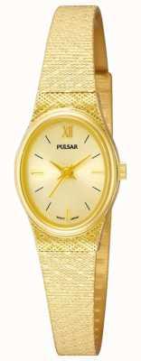 Pulsar Orologio pulsar da donna | cinturino in maglia d'oro | PK3032X1