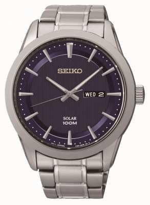 Seiko Mens Watch ad energia solare SNE361P1