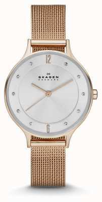 Skagen Donna anita rosa orologio oro maglia SKW2151
