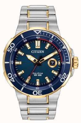 Citizen orologio Mens sforzo Eco-Drive AW1424-54L
