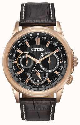 Citizen Mens calendrier rosa tono eco-drive cronografo BU2023-04E