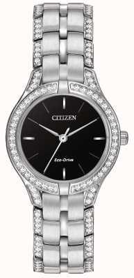 Citizen Cristallo silhouette orologio eco-drive delle signore FE2060-53E