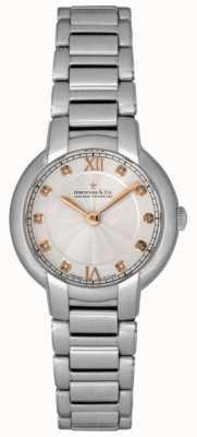 Dreyfuss Orologio da donna con diamanti incastonati in argento DLB00060/D/01