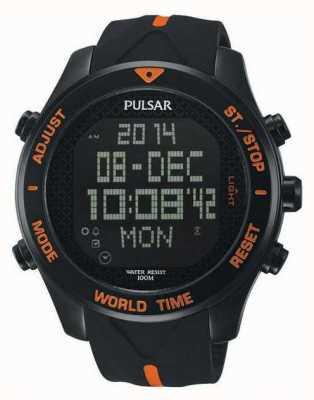 Pulsar Mens pulsar orologio cronografo allarme PQ2037X1