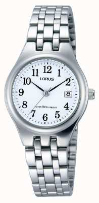 Lorus Donne data orologio in acciaio inox RH791AX9