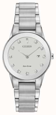 Citizen Womens assioma Eco-Drive in acciaio GA1050-51B
