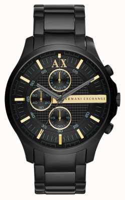 Armani Exchange Mens tutto cronografo nero AX2164
