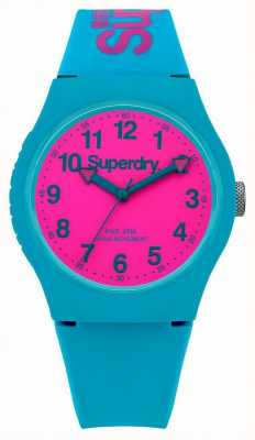 Superdry Alzavola urbana watch cinturino in silicone SYG164AUP