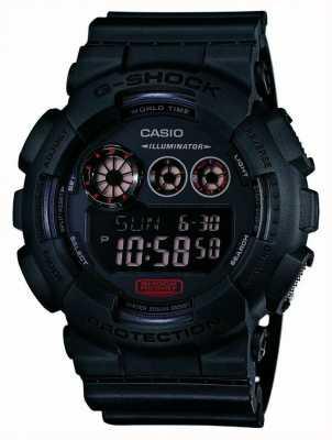 Casio Mens g-shock opaco cinturino in resina nera GD-120MB-1ER