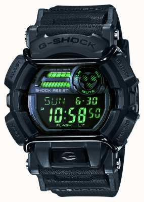 Casio G-shock mens timer Stealth Black GD-400MB-1ER