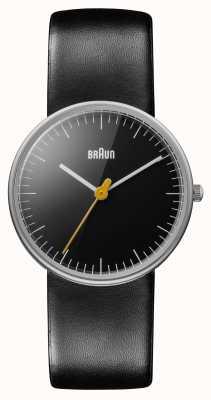 Braun Onorevoli tutto orologio nero BN0021BKBKL