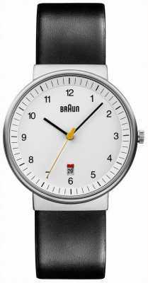 Braun Mens tutto bianco nero orologio BN0032WHBKG