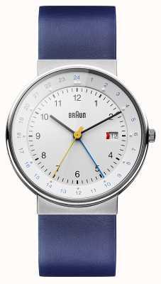 Braun Unisex classico orologio dual time BN0142WHBLG