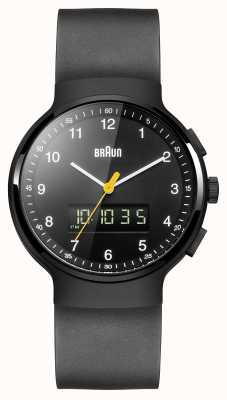 Braun Nero classico orologio ana-digi di Gent BN0159BKBKG
