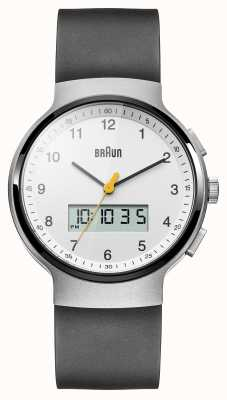 Braun Unisex nero orologio terracotta vestito BN0159WHBKG