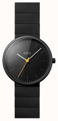 Braun Unisex nero orologio terracotta vestito BN0171BKBKG