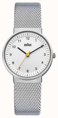 Braun Ladies orologio bianco BN0031WHSLMHL