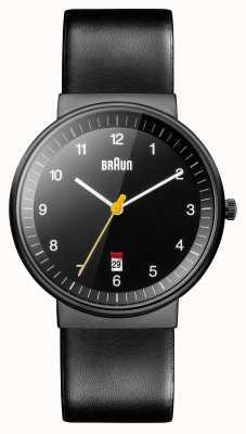 Braun Mens tutto orologio nero BN0032BKBKG