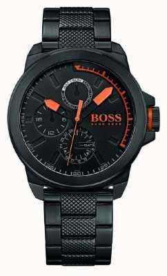 Hugo Boss Orange Gents ip nera quadrante nero 1513157