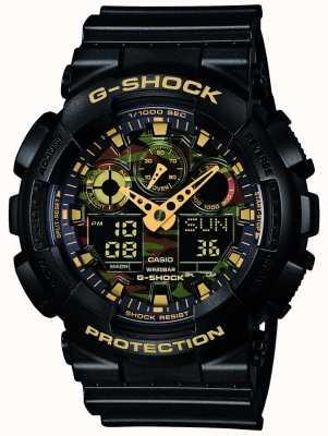 Casio G-shock dial allarme cronografo camouflage GA-100CF-1A9ER