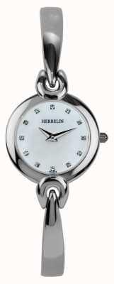Michel Herbelin Onorevoli cassa in acciaio, madreperla 17001/B59