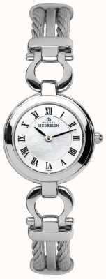 Michel Herbelin Signore dei cavi d'acciaio vigilanza del braccialetto 17422/B29
