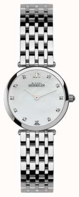 Michel Herbelin Ladies Watch epsilon acciaio inossidabile 1045/B59