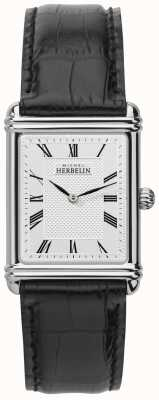 Michel Herbelin Mens, analogico al quarzo, cinturino in pelle 17468/08