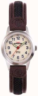 Timex Orologio da polso di spedizione di indiglo delle signore T41181