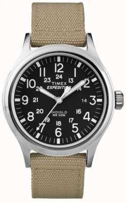 Timex Mens Watch esploratore spedizione nero T49962