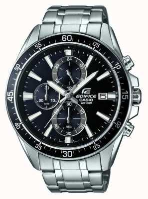 Casio Acciaio inox Edifice cronografo nero EFR-546D-1AVUEF