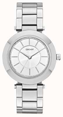 DKNY Onorevoli Stanhope acciaio inossidabile 2.0 NY2285