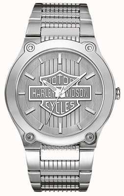 Harley Davidson In acciaio inox con le mani luminose 76A134