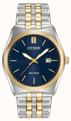 Citizen Gents eco-drive corso WR100 due toni BM7334-58L
