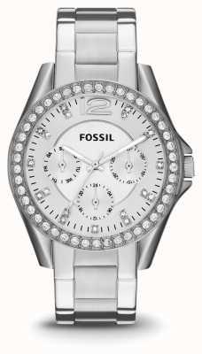 Fossil Onorevoli RILEY acciaio inossidabile ES3202