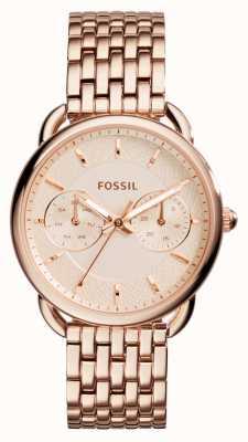 Fossil Donna su misura PVD oro rosa placcato ES3713