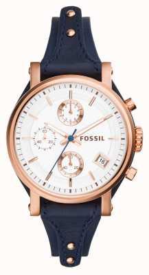 Fossil Womens fidanzato originale rosa pvd oro ES3838