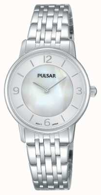 Pulsar Quadrante in madreperla acciaio inossidabile PRW025X1