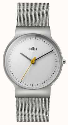 Braun Womens linea classica braccialetto della maglia BN0211WHSLMHL