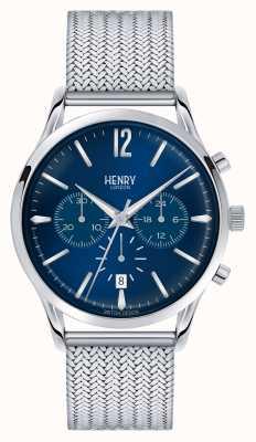 Henry London Knightsbridge in acciaio inox di maglia crono HL41-CM-0037