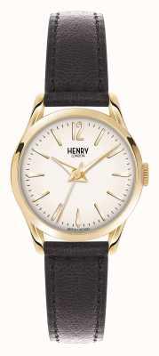 Henry London Westminster marrone champagne cinturino in pelle HL25-S-0002