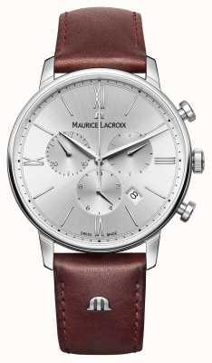 Maurice Lacroix Eliros data cinturino in pelle cronografo EL1098-SS001-110-1