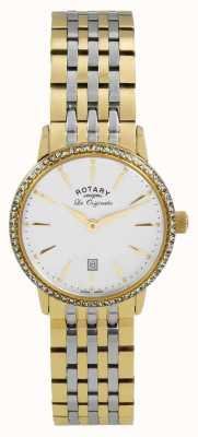 Rotary Womens les originales PVD oro placcato LB90056/01