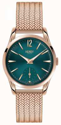 Henry London Donna stratford placcato oro rosa pvd HL30-UM-0130