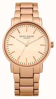 Daisy Dixon quadrante a specchio delle donne Kate opaco rosa pvd oro DD004RGM