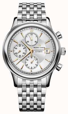 Maurice Lacroix Cronografo in acciaio inox data automatica LC6158-SS002-130-1