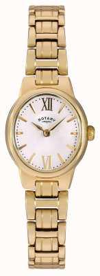 Rotary Quadrante bianco placcato in oro pvd oro LB02748/01